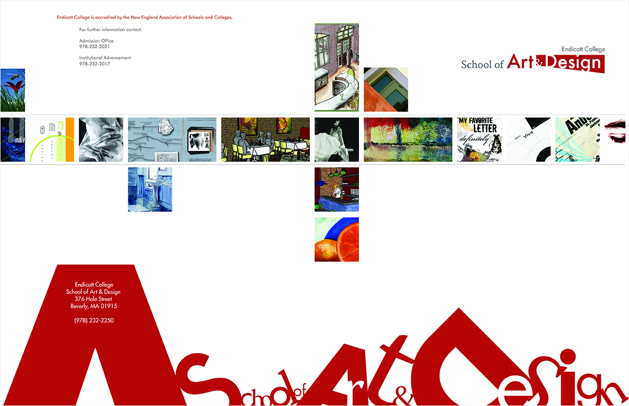 Art & Design brochure